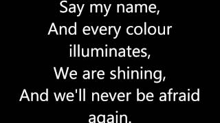Florence and The Machine - Spectrum (LYRICS ON SCREEN)