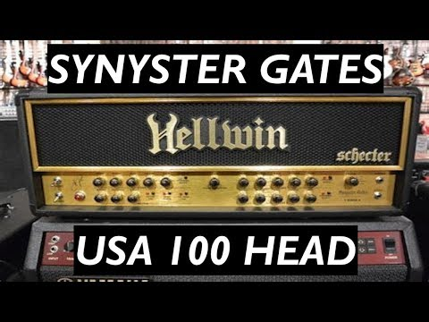 Synyster Gates Schecter Hellwin USA 100 Head Demo