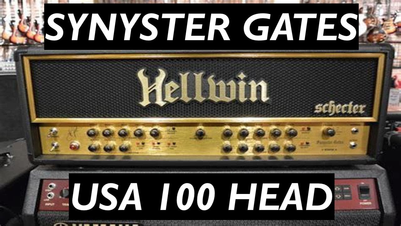 Synyster Gates Schecter Hellwin USA Head Demo