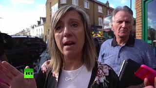 Eyewitnesses describe moments of explosion on London Tube
