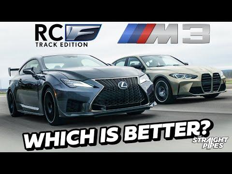 HORSEPOWER RIVALS! 2021 Lexus RCF Track Edition vs BMW M3