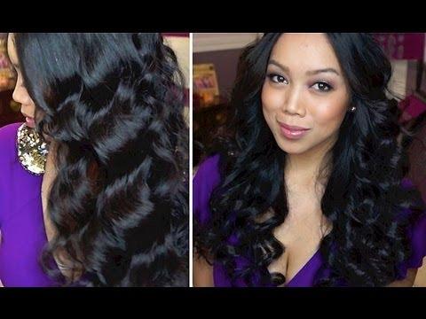 Easy Voluminous Waves Hair Tutorial! - itsJudytime