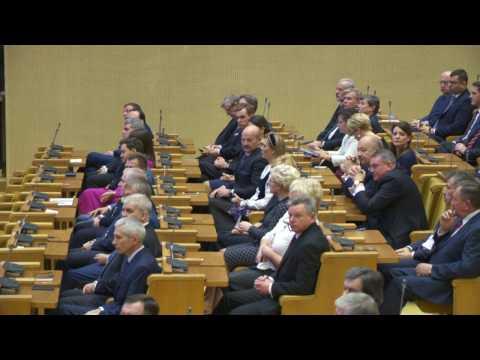 Prisiekė 2016 -2020 metų kadencijos Seimas