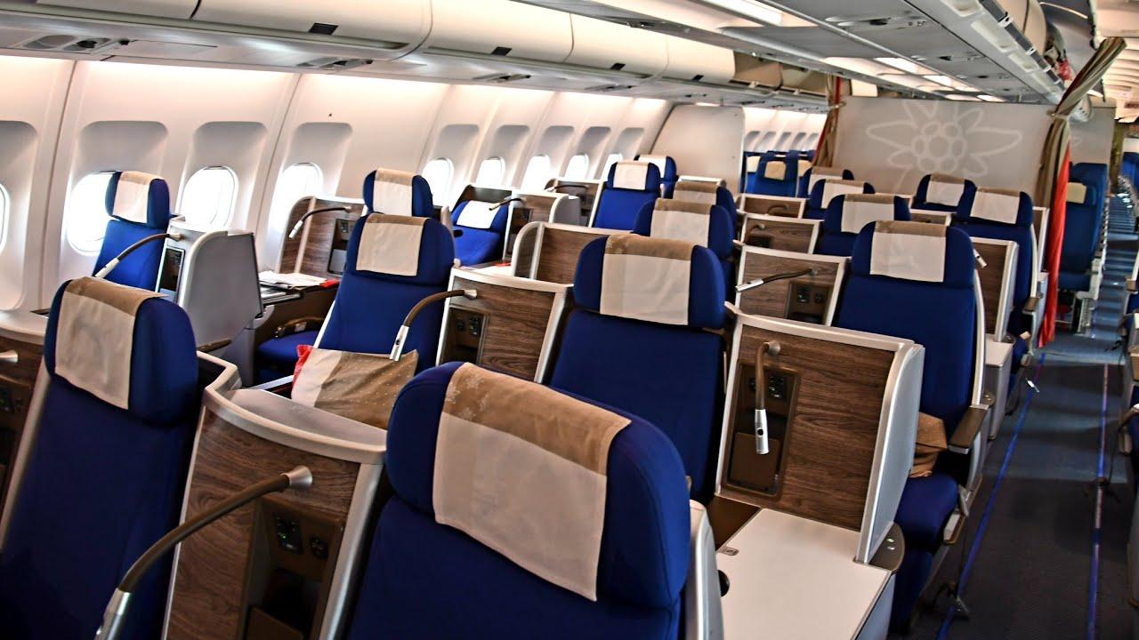 Edelweiss Air Business Class Airbus A340 300 Flight