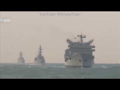 FOOTAGES Of Pakistan China Joint Naval Drill In East China Sea, 2016   YouTube