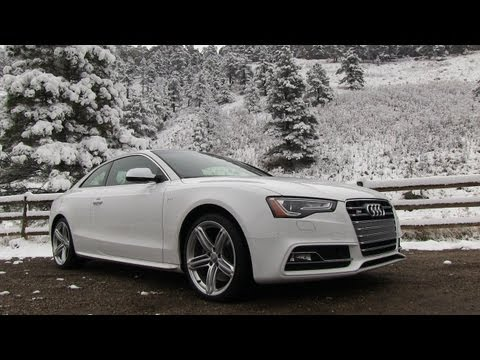 2013 Audi S5 Quattro S tronic 0-60 MPH Drive & Review