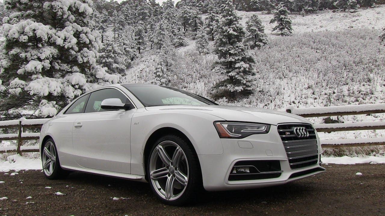 2013 Audi S5 Quattro S Tronic 0 60 Mph Drive Review Youtube