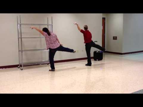 Thriller dance steps