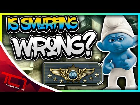 IS SMURFING WRONG? - CS:GO