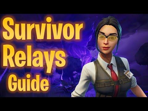 Rebuild Survivor Relays Quest SOLUTION! | Fortnite STW Tutorials