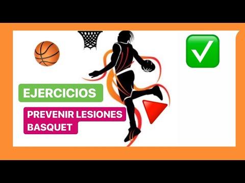 Ejercicios para BASQUET - Prevenir LESIONES  - [QUE NO TE PAREN!!] - Fisioterapia