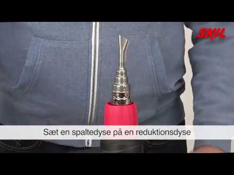 Underbar Sådan svejses en PVC-presenning med en varmepistol - YouTube FQ-92