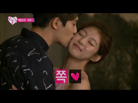 【TVPP】 Jonghyun(CNBLUE) - Kiss on the cheek , 종현(씨엔블루) - 애프터 파티 볼 뽀뽀 @ We Got Married