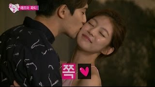 【TVPP】 Jonghyun(CNBLUE) - Kiss on the cheek , 종현(씨엔블루) - 애프터 파티 볼 뽀뽀 @ We Got Married