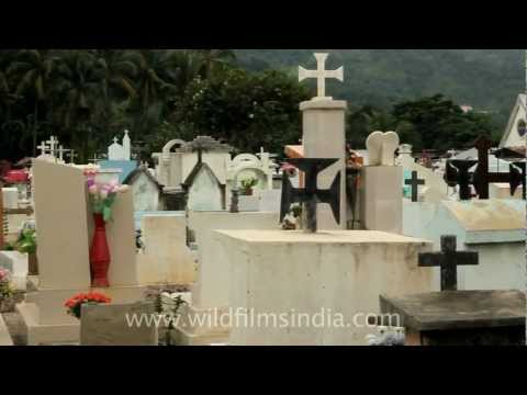 Cemetery in Dili, East Timor