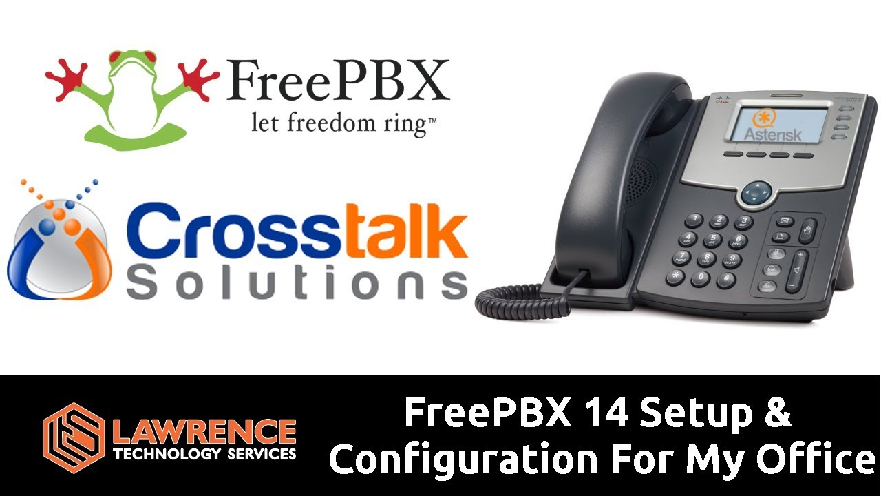 FreePBX 14 Setup / Configuration & Walk Through For My Office with Chris  from Crosstalk Solutions