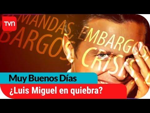 Luis Miguel habría sido desalojado y tendría millonaria deuda   Muy buenos días