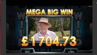 Jurassic Park Slot T Rex Feature Massive Win 1460x Stake
