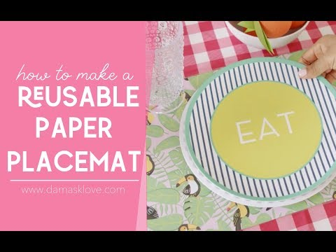 How To Make A Paper Placemat