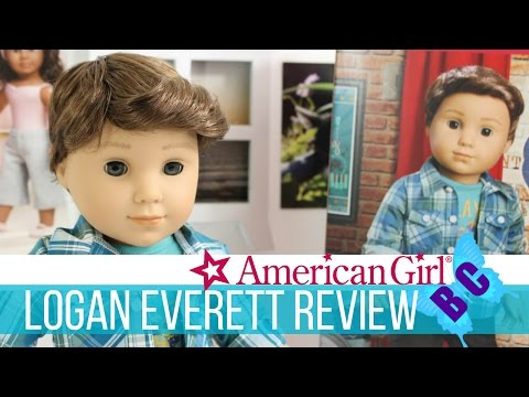 American Girl Doll Review LOGAN | AG BOY DOLL | Unboxing & First Look | Buterflycandy