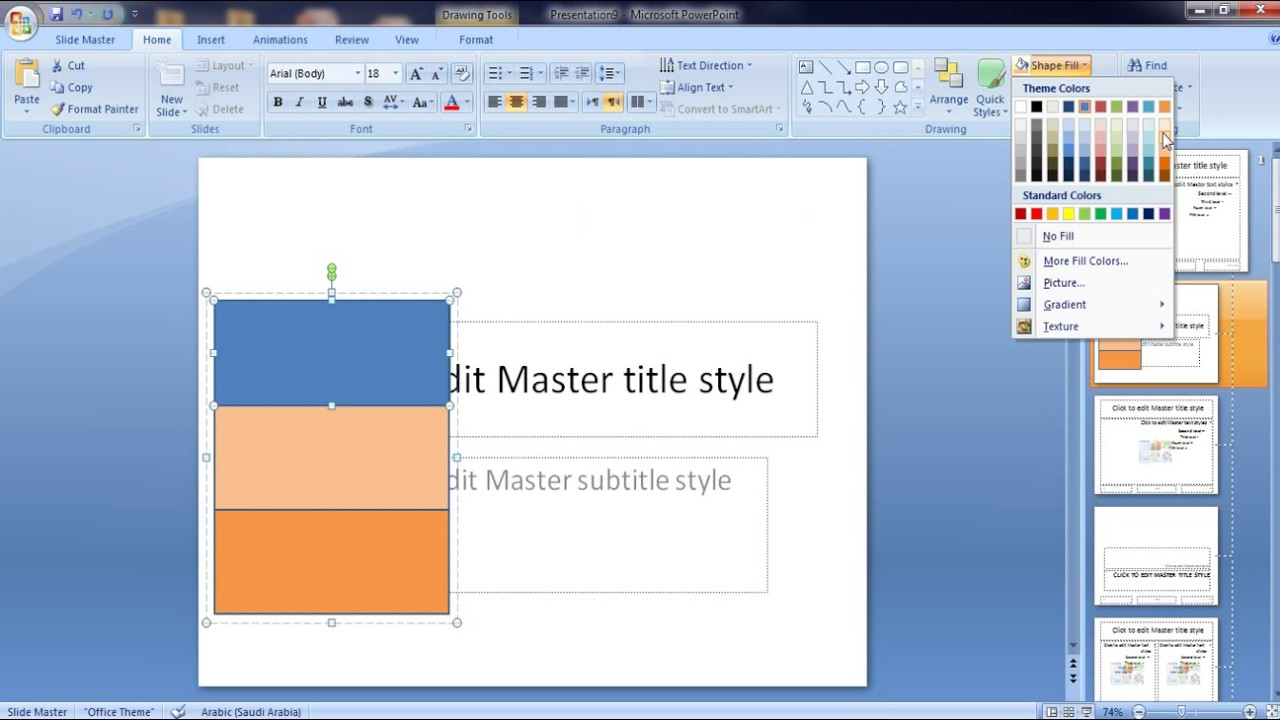 how to create and save powerpoint template - youtube, Modern powerpoint