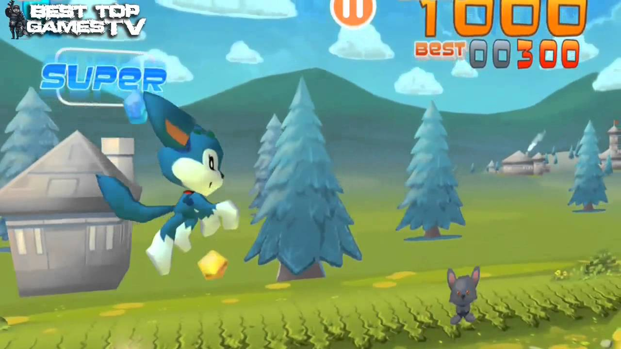 Jumping Wolf 3D - Android / iOS GamePlay (Kids Jumping Games ...