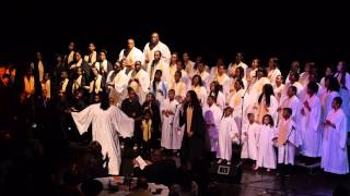 SEI Sounds of Soul Mass Choir sings  John P. Kee Medley Lead by Shara Brazzle