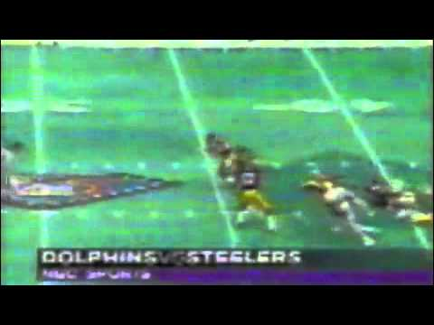 1994 NFL Primetime Miami Dolphins vs Pittsburgh Steelers
