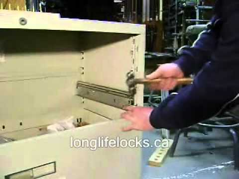 Repair file cabinet track or suspension Steelcase  YouTube
