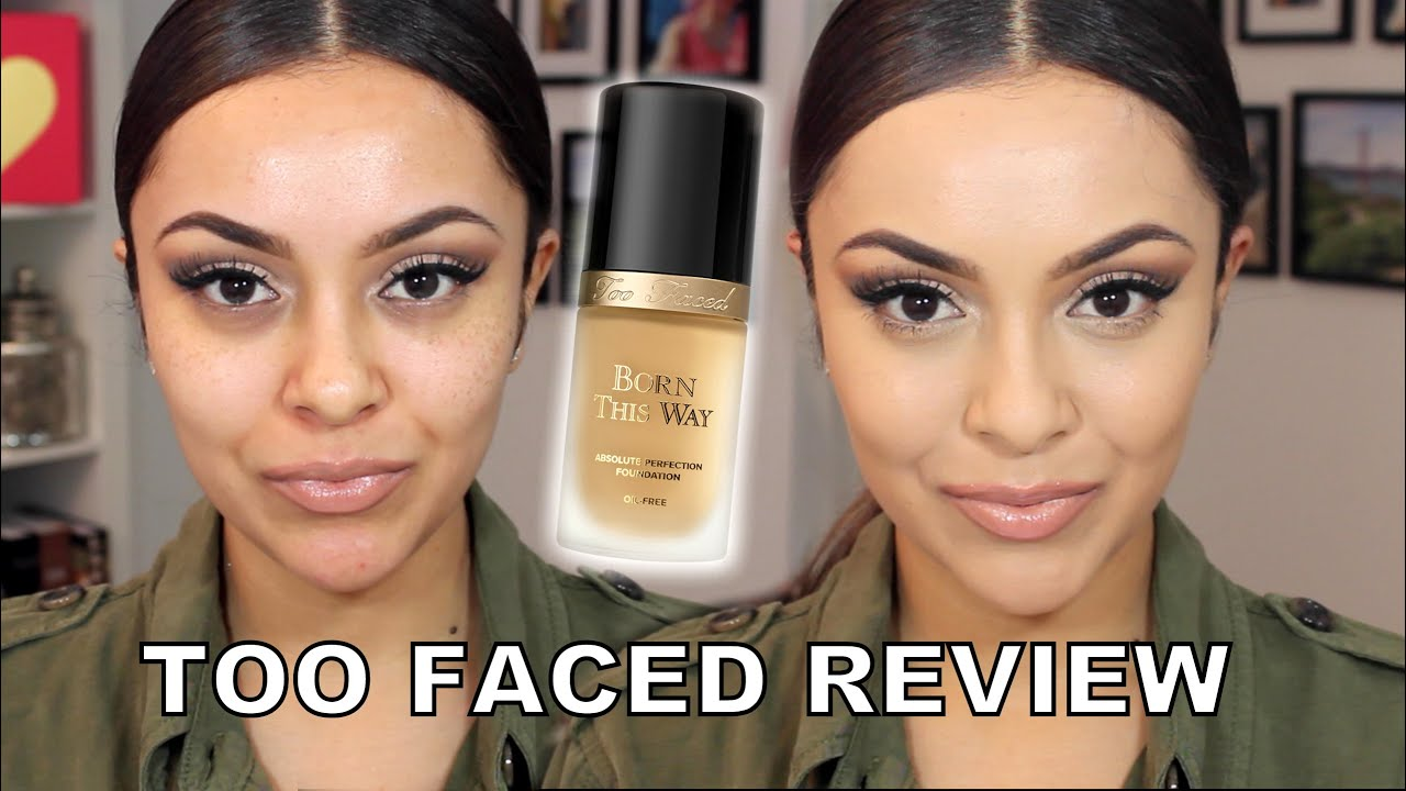 Too Faced Born This Way Foundation Review And Demo