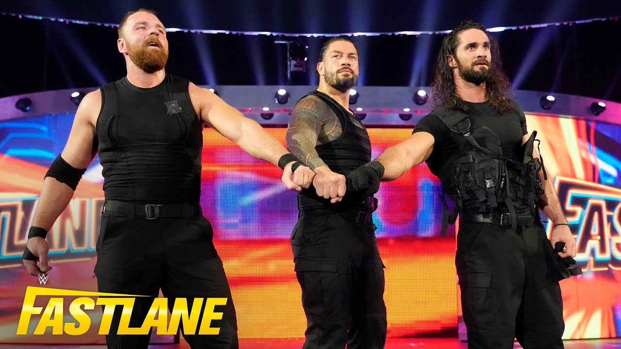 The Shield emerge for battle one last time: WWE Fastlane 2019 (WWE Network Exclusive)