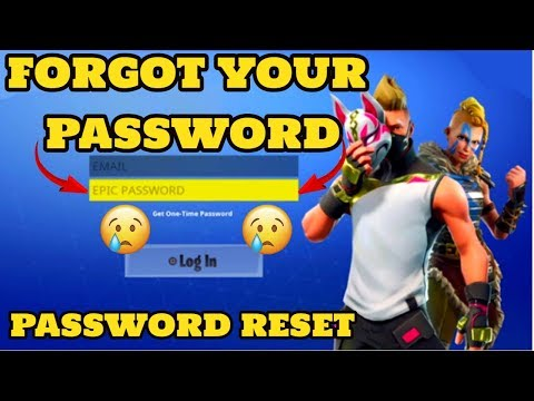 How To Reset Fortnite Password