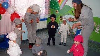 Deda Mraz i Zečići u jaslicama (Vladimirci, 27.12.