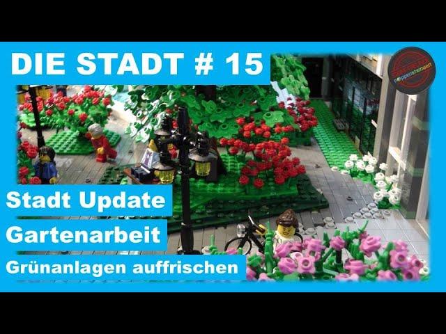 Die Stadt # 15 - Stadt-Update: Gartenarbeit - Grünanlagen auffrischen