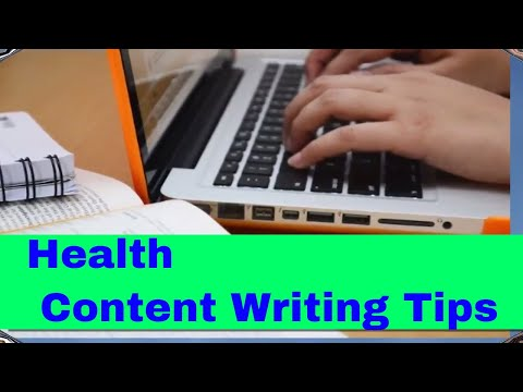 How to become a Health Content Writer| Freelance Medical Writer