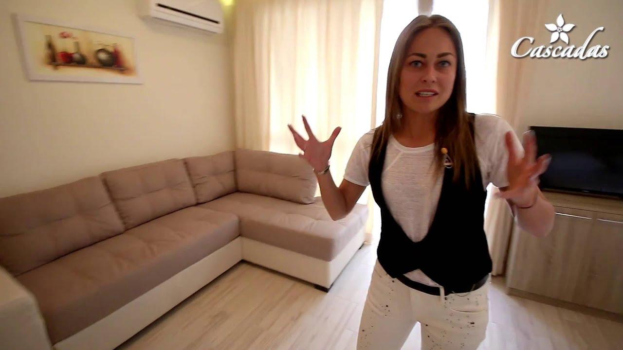 Трехкомнатная квартира в Сарафово, Бургас, Болгария - YouTube