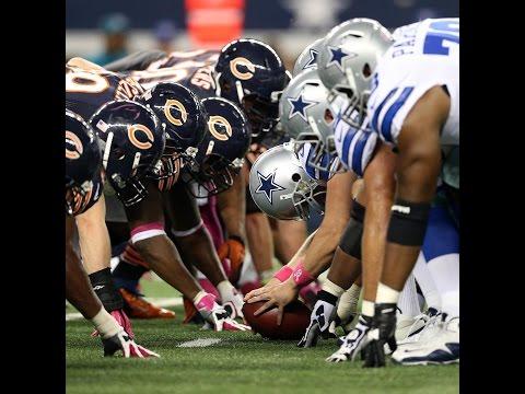 Dallas Cowboys Pregame Show 2016 Week 3 vs Bears