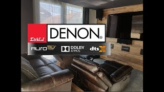 DIY Home Theater with Auro3D/DolbyAtmos/DTSX 2017 4k