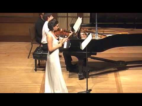 Brahms f minor Sonata Fourth Movement- Marina Thibeault, Viola, Alexander Ullman, Piano
