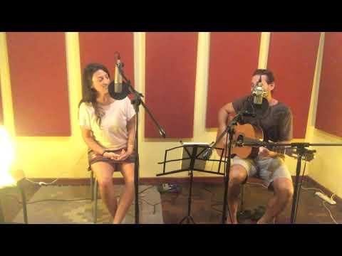 Stefanie Tschernuth Ft. Lucho Felice - Cover Knocking On Heaven's Door (Bob Dylan) Estudio La Nube