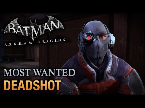 Batman: Arkham Origins - Deadshot (Most Wanted Walkthrough)