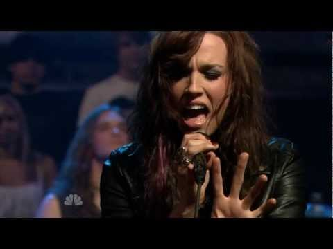 Halestorm - Familiar Taste Of Poison - Jimmy Fallon (21-07-2010)