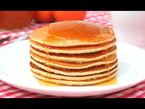 Easy and fluffy American pancakes | Hot Cakes | Pancakes