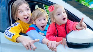 Детская песня - Мы приехали? Are we there yet? на русском   Песни для детей от Тимы и Еси