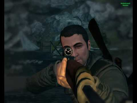Sniper Elite V2 Gameplay stage 10 Kopenick Launch Site