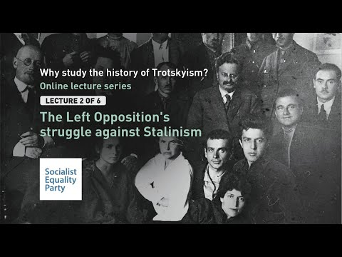 The Left Opposition's Struggle Against Stalinism