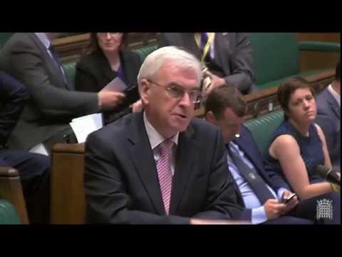 John McDonnell | Queen's Speech Economy and Jobs Debate