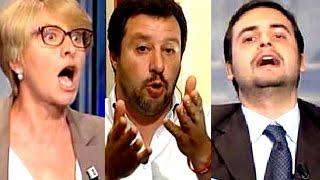 Matteo Salvini vs Carlo Sibilia - Porta a Porta