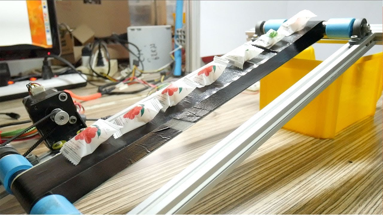 How to Make a Simple Conveyor Belt from PVC Pipe