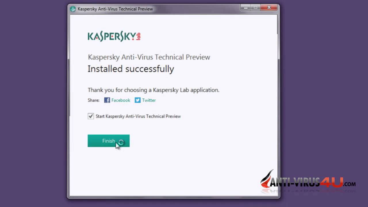 Download and Install Kaspersky 2015